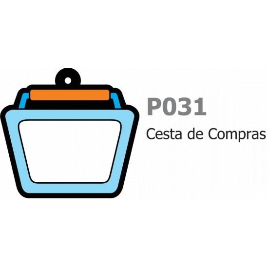 500 Chaveiros Cesta De Compras Personalizado Brindes P031