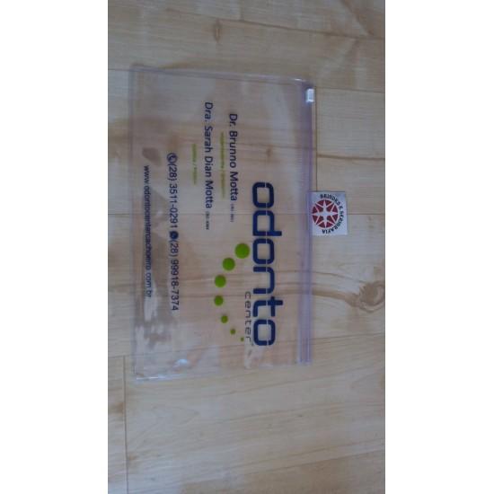 100 Pasta zip-zap média personalizada NR18