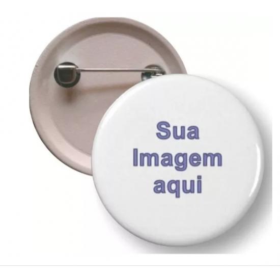100 Botons Personalizados Button Brinde Desenho R3334