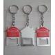 50 Chaveiros Chapa Abridor Casinha Imobiliária Casa R2016